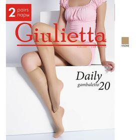 Гольфы Giulietta DAILY 20 (2 пары) (visone, 0) Ош