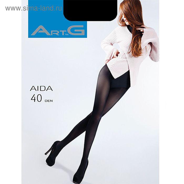 Колготки женские ARTG AIDA 40 (nero, 4) микрофибра