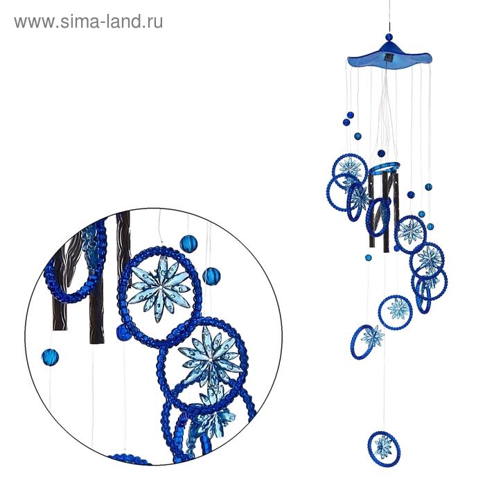 "Музыка ветра ""Цветочки"" 4 трубочки, 11 фигурок"