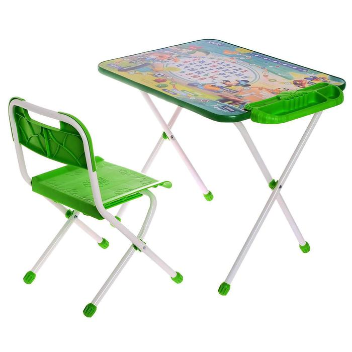 """Набор детской мебели """"Дисней 1. Микки Маус и друзья"""" складной, цвет синий"""