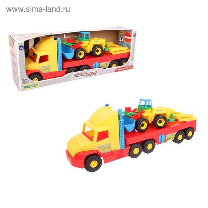 Грузовой автомобиль Super truck с трактором