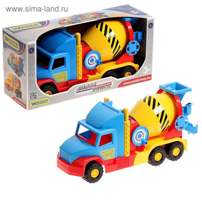 Машинка-бетономешалка Super Truck