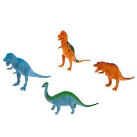 """Набор животных """"Динозавры"""", 4 шт"""