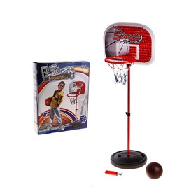 Баскетбольный набор 'Спорт', с мячом, с насосом Ош