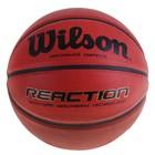 Мяч баскетбольный Wilson Reaction, B1237X, размер 7