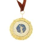 Медаль на подложке «За посещение Волгограда»