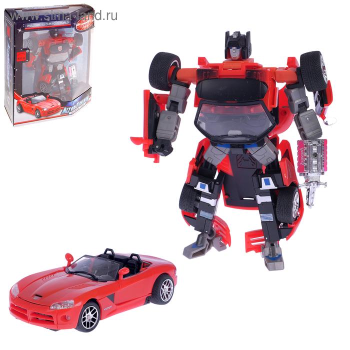 """Робот-трансформер """"Машина"""""""