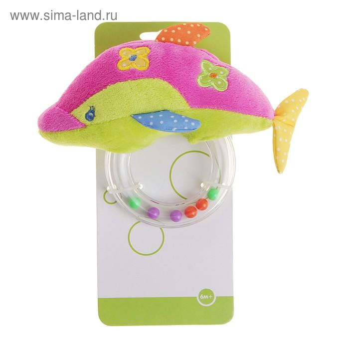 Развивающая игрушка-погремушка «Дельфин»