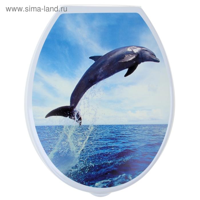 """Сиденье для унитаза """"Дельфин"""""""