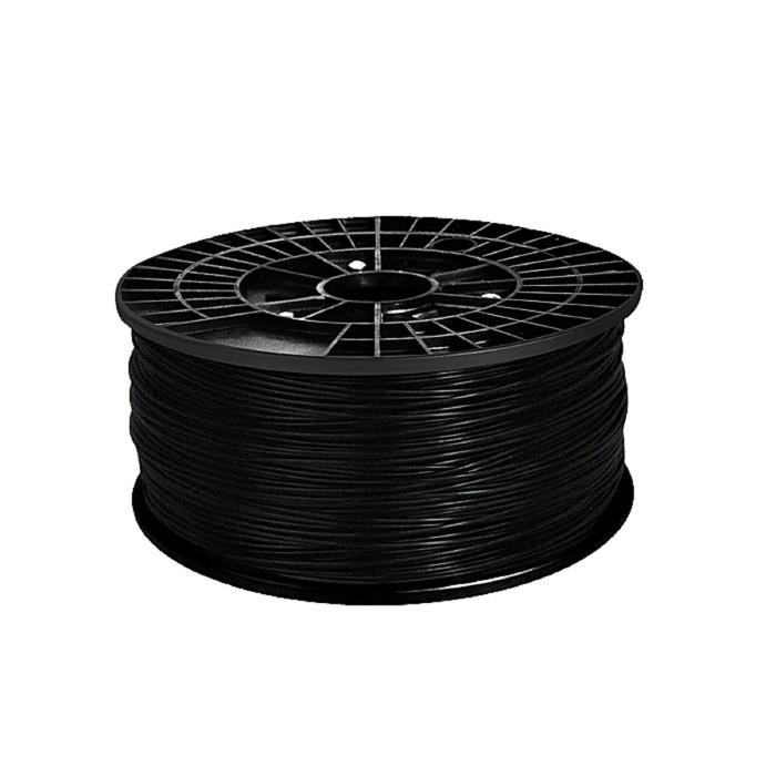 ABS-пластик, нить чёрного цвета, диаметр 1,75 мм, 1 кг