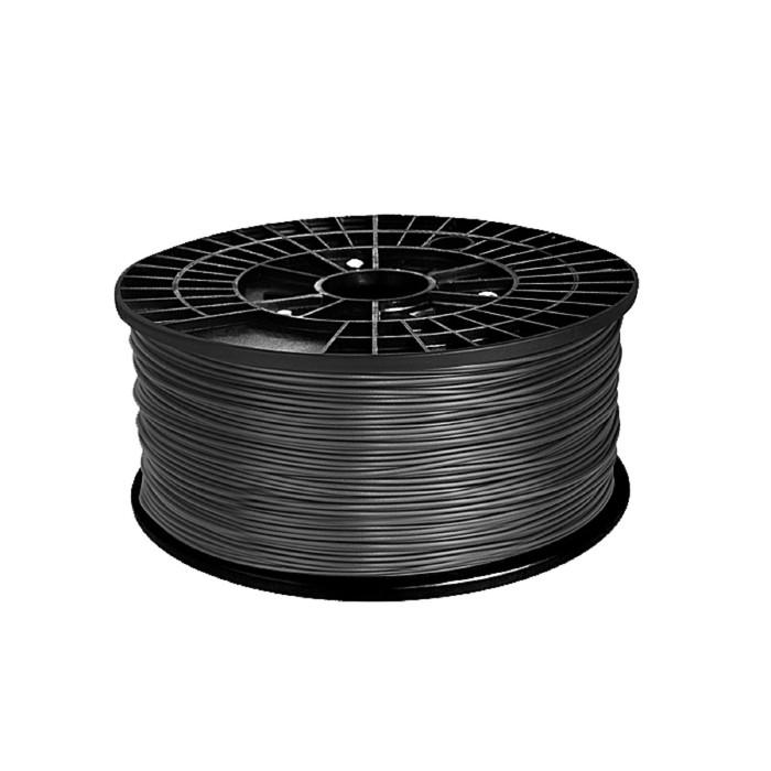 ABS-пластик, нить серого цвета, диаметр 1,75 мм, 1 кг