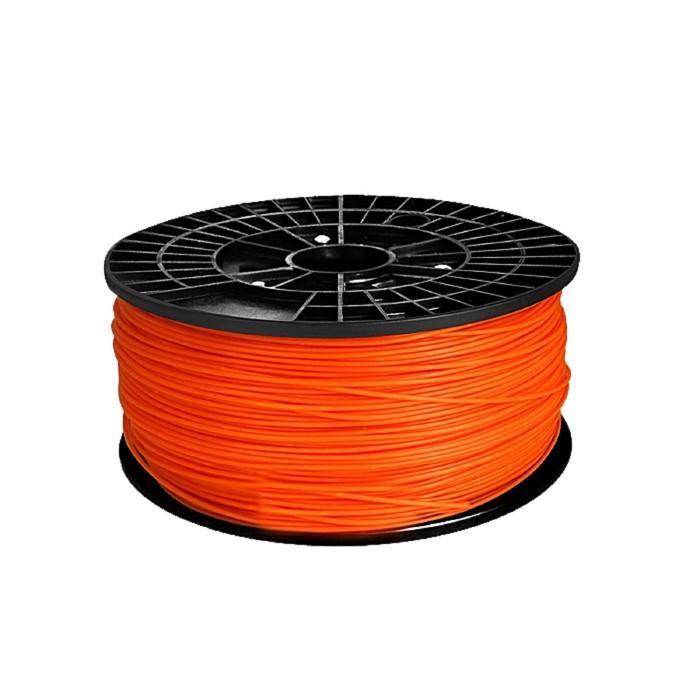 ABS-пластик, нить оранжевого цвета, диаметр 1,75 мм, 1 кг