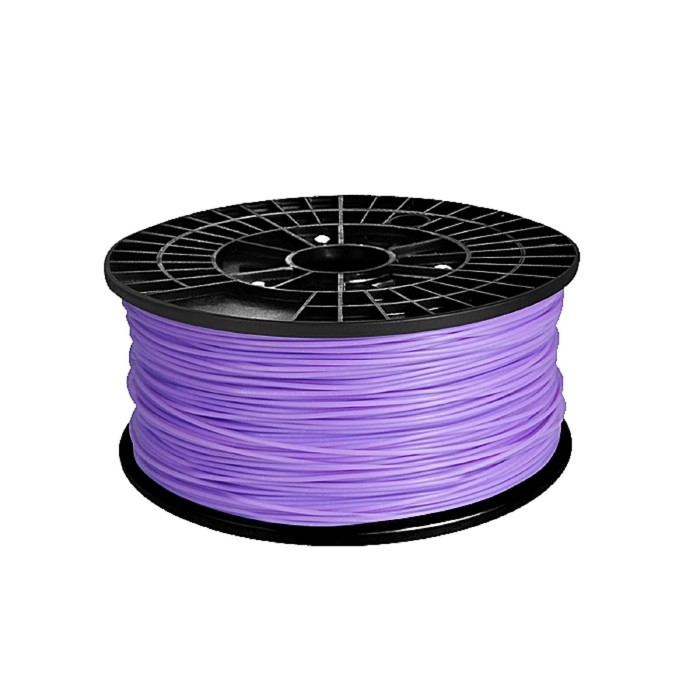 ABS-пластик, нить фиолетового цвета, диаметр 1,75 мм, 1 кг
