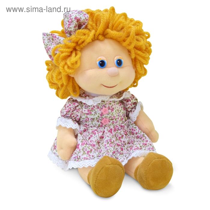 Мягкая игрушка «Куколка Любаша» музыкальная