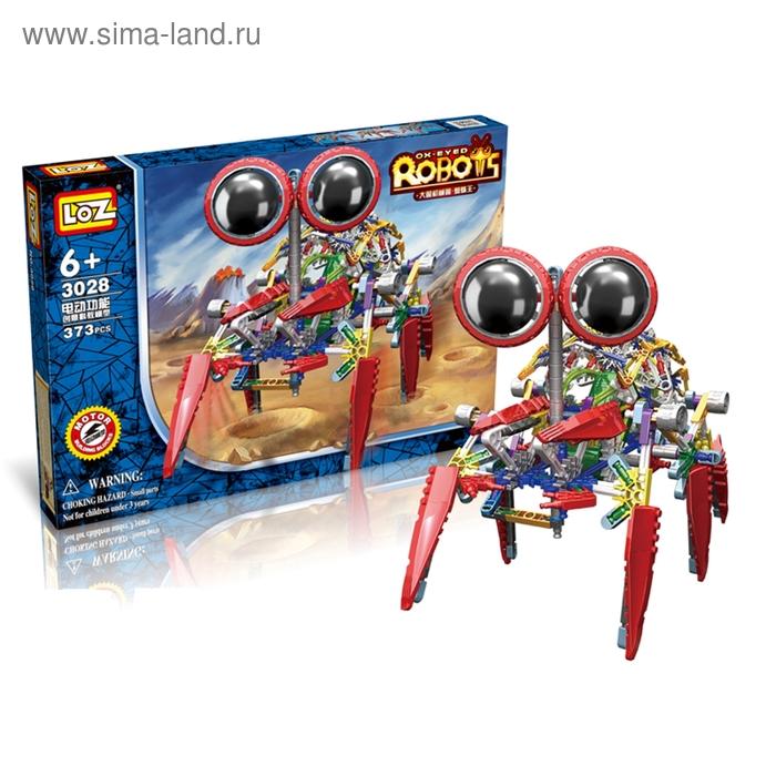 """Конструктор-робот """"Паук"""", работает от батареек, 373 детали"""