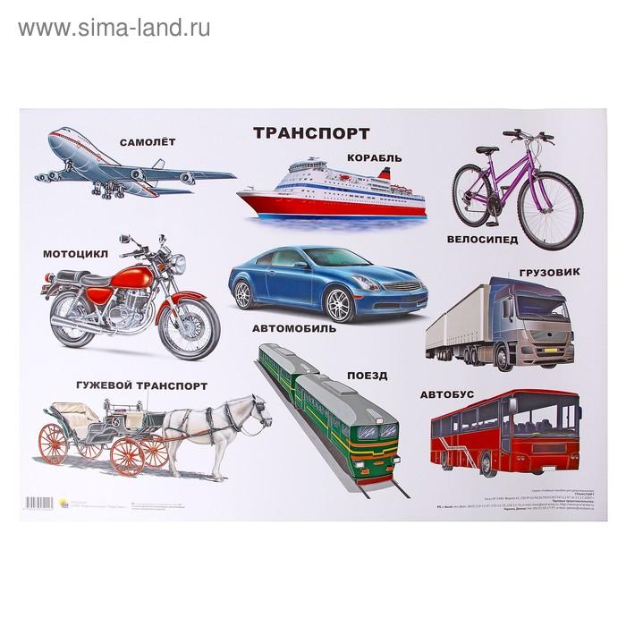 Плакат. Формат А2. Транспорт