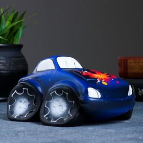 """Копилка """"Машина"""" синяя, микс"""