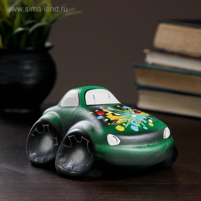 "Копилка ""Машина"" зелёная"