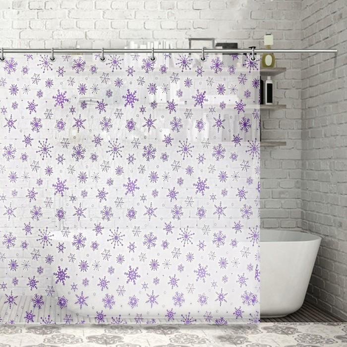Штора для ванной 180х180 см