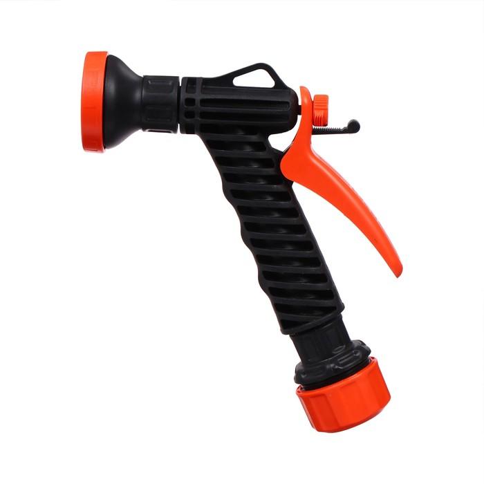 """Пистолет-дождеватель, цанговый зажим 3/4"""" (19 мм), пластик, """"Жук"""""""