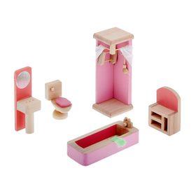 Мебель кукольная 'Ванная комната', 5 предметов Ош