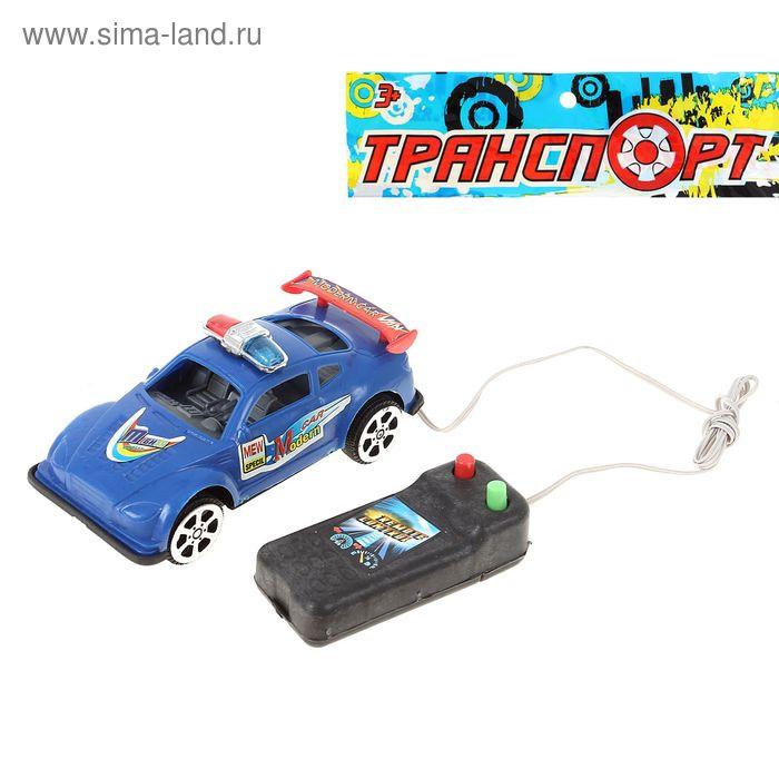 """Машина """"Полиция"""", на дистанционном управлении, цвета МИКС"""