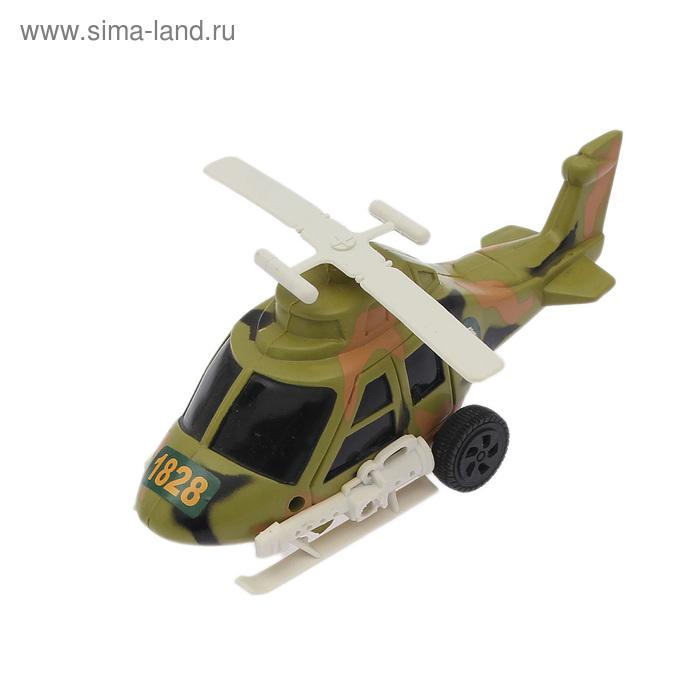 """Вертолет инерционный """"Военный"""""""