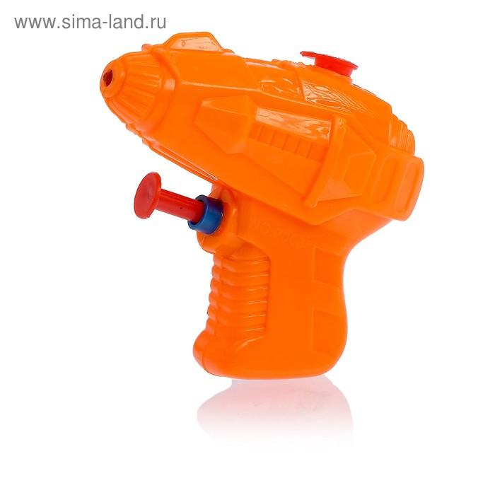 """Водный пистолет """"Мини"""", с эксклюзивными наклейками, цвета МИКС"""