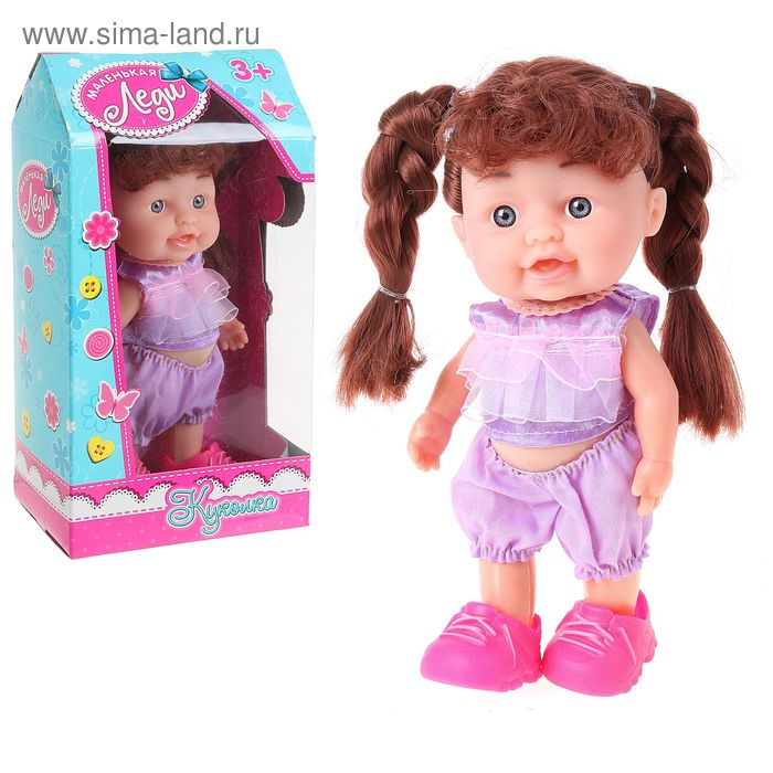 "Кукла, ""Маленькая леди"", МИКС"