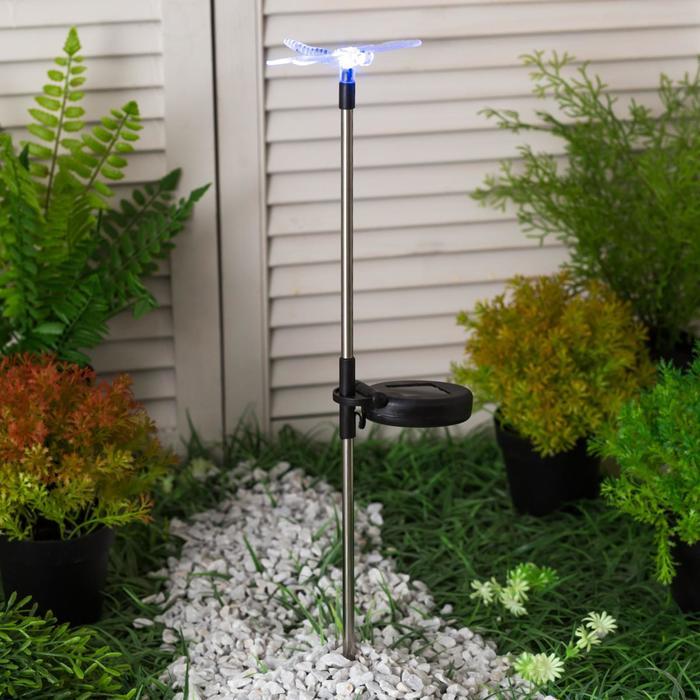 """Светильник """"Старт"""", садовый, 1 светодиод, """"стрекоза"""""""