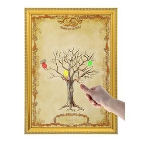 """Свадебное дерево пожеланий в рамке """"Совет да любовь"""""""