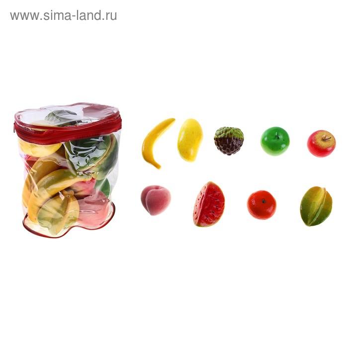 Набор фруктов в сумке, 9 предметов