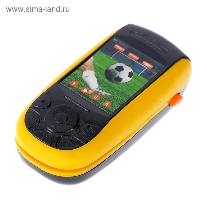 """Телефон-слайдер """"Футбол/попугай"""", звуковой эффект, МИКС"""