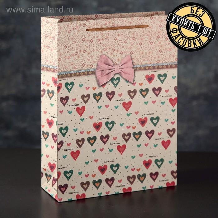 """Бумага упаковочная """"Полосы"""", цвет розовый"""