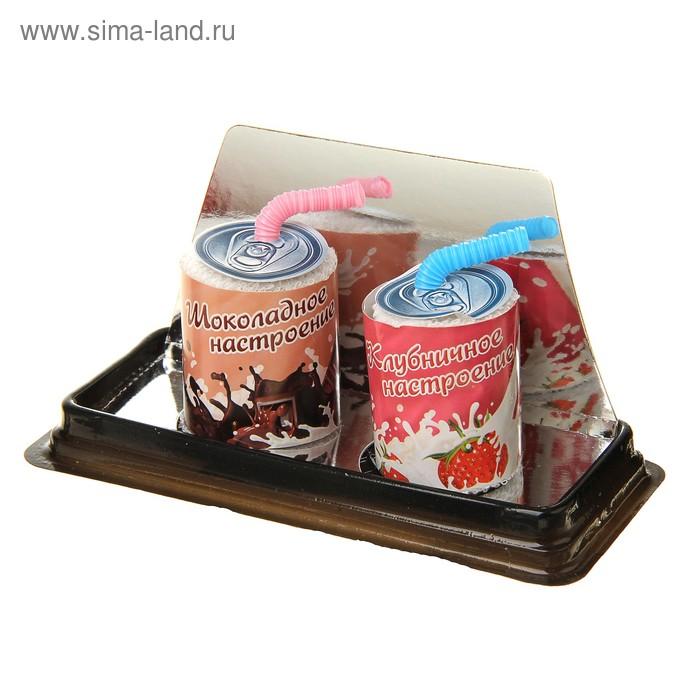 Набор сувенирных полотенец Миринда 20*20 см - 2 шт МИКС