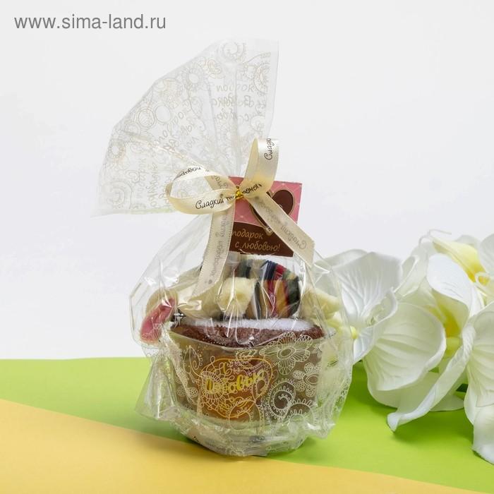 Сувенирное полотенце Зайка 20х20 см, МИКС