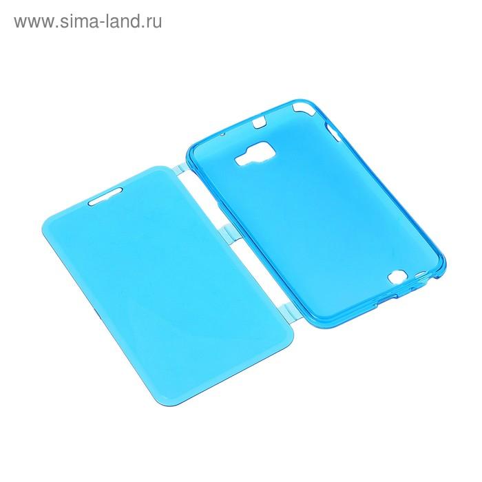 Чехол для телефона Samsung Galaxy Note, 9220, откидной, силикон, МИКС