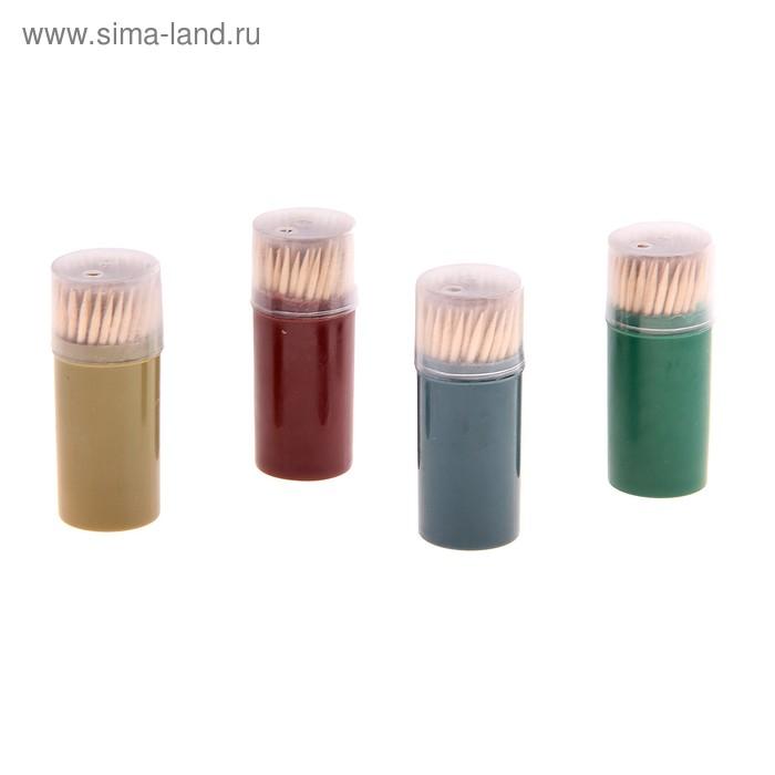 3убочистки в пенале 100 шт., цвета МИКС