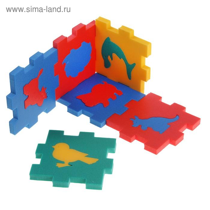 """Мягкий конструктор """"Кубик с животными"""""""