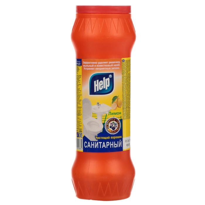 Чистящий порошок Санитарный HELP Лимон 400 г