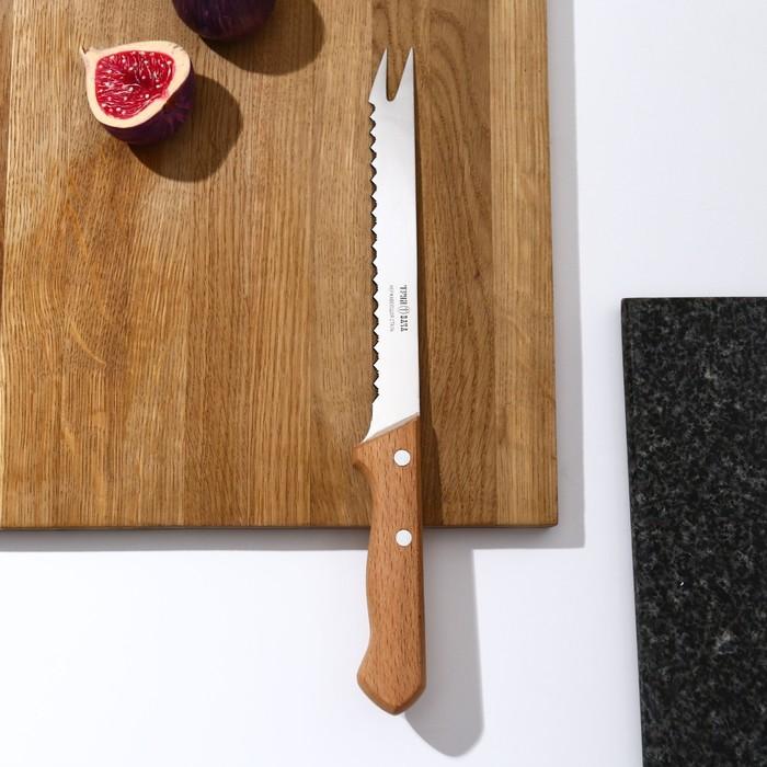 """Нож для замороженных продуктов 30,5 см """"Ретро"""", лезвие 17,5 см"""