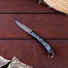 Нож складной неавтоматический без фиксатора, рукоять черная, бамбук