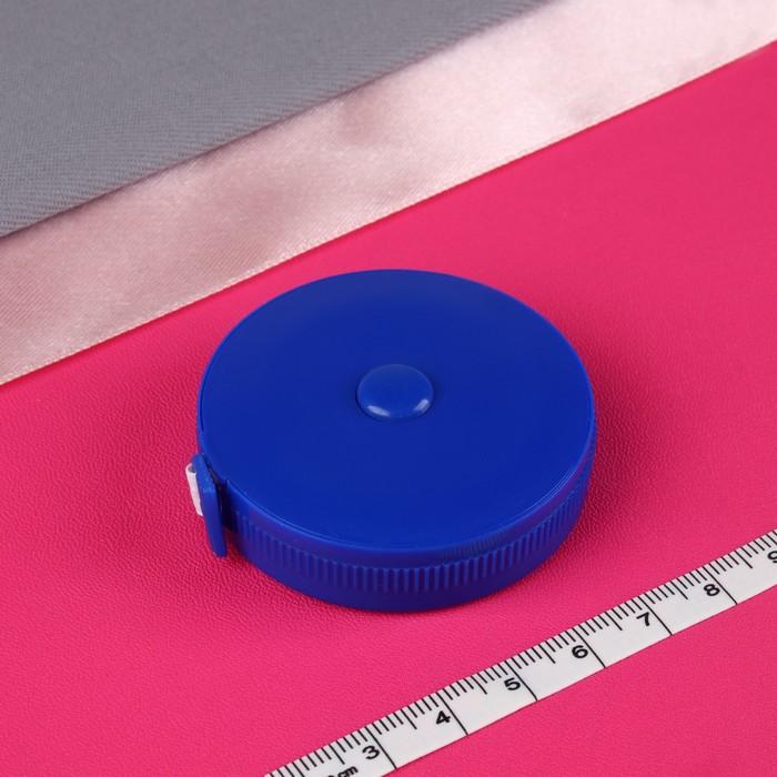 Сантиметровая лента-рулетка, 1,5м, цвета МИКС