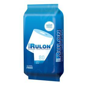 Туалетная бумага влажная MON RULON, 80 шт
