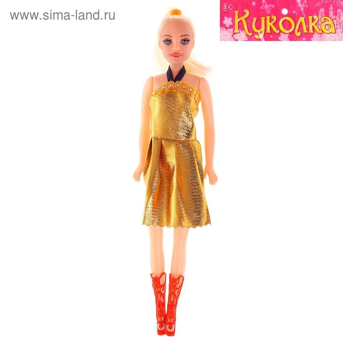 Кукла в платье, МИКС