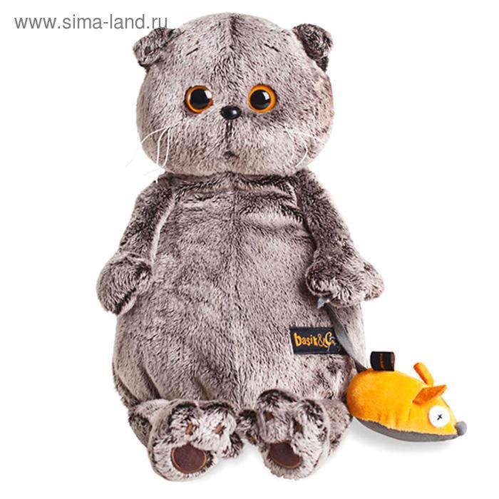 Мягкая игрушка «Басик и мышка»
