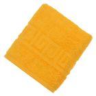 Полотенце махровое однотонное Антей цв желтый 40*70см 100% хлопок 430 гр/м2