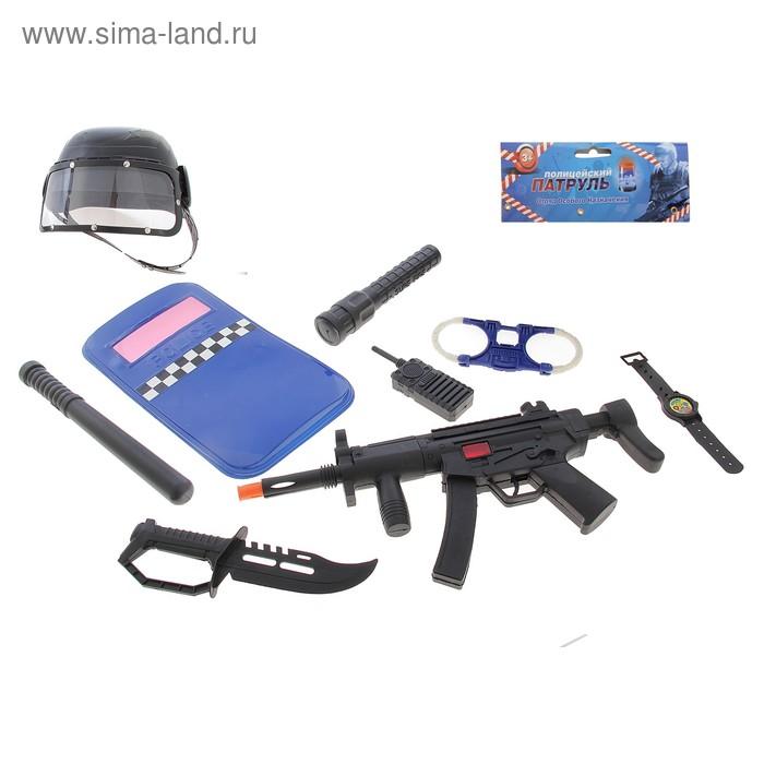"""Набор """"Отряд особого назначения"""" с шлемом, 9 предметов"""