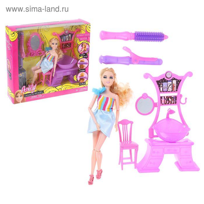 """Кукла шарнирная, """"Анлилу"""" с набором парикмахера"""