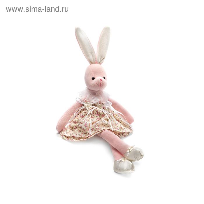 Мягкая игрушка «Зайчиха-модница» музыкальная